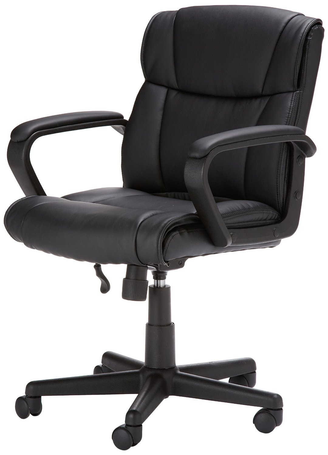 Chaise gamer pas cher l 39 amazon basics mid back office chair for Chaise klim