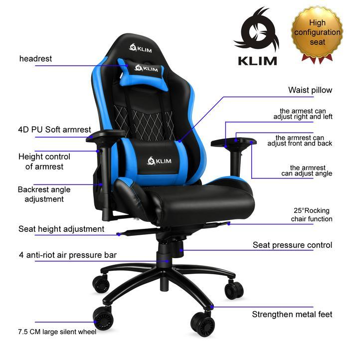 Chaise gamer pas cher comparatif et guide d achat for Chaise klim