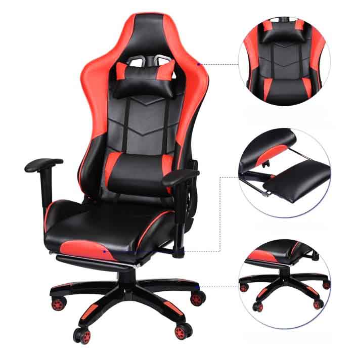 Fauteuil de gamer 05 chaises gamer for Chaise klim